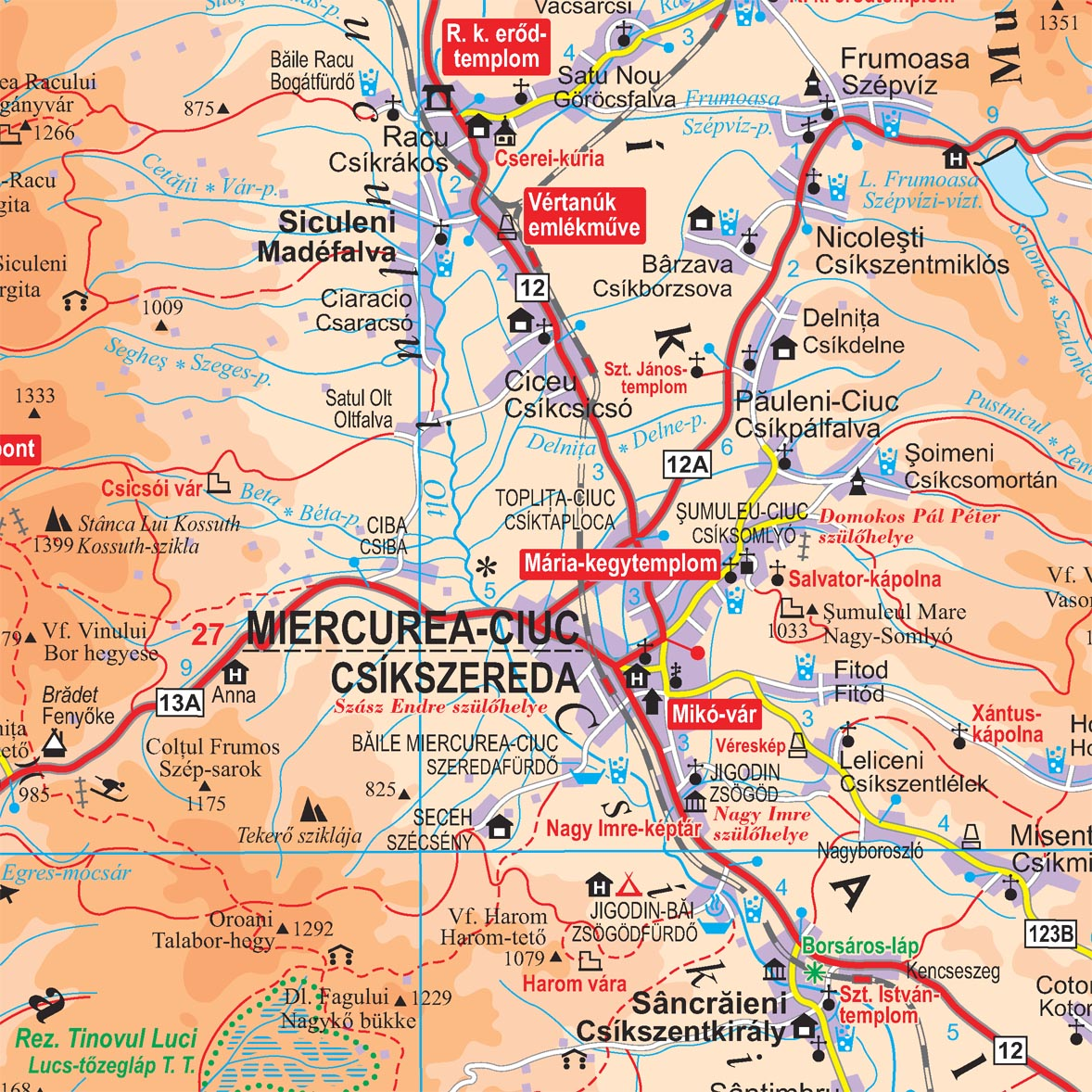 Translivania SE map sample