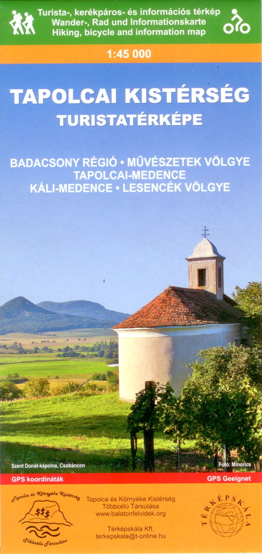 Badacsony, Valley of Arts, Tapolca-basin, Kál-basin, Lesence-valley