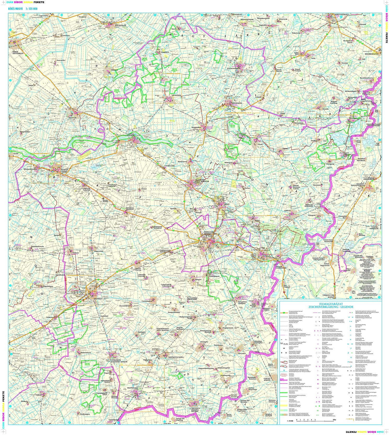 Digital map for mobile phones, tablets can be purchased on PDFMaps website