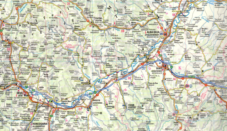 Transylvania sample map No 2.