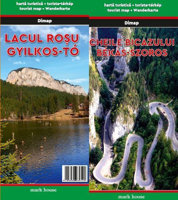 Description of tourist routes also in English.