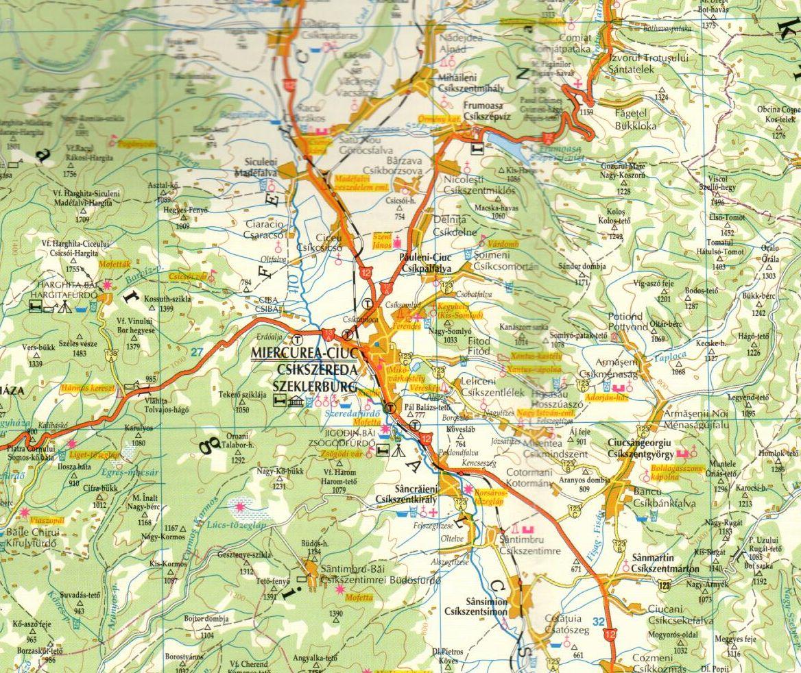 Secuimea sample map