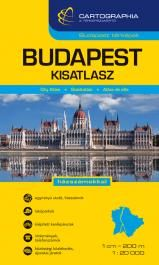 Budapest atlas with public transport network