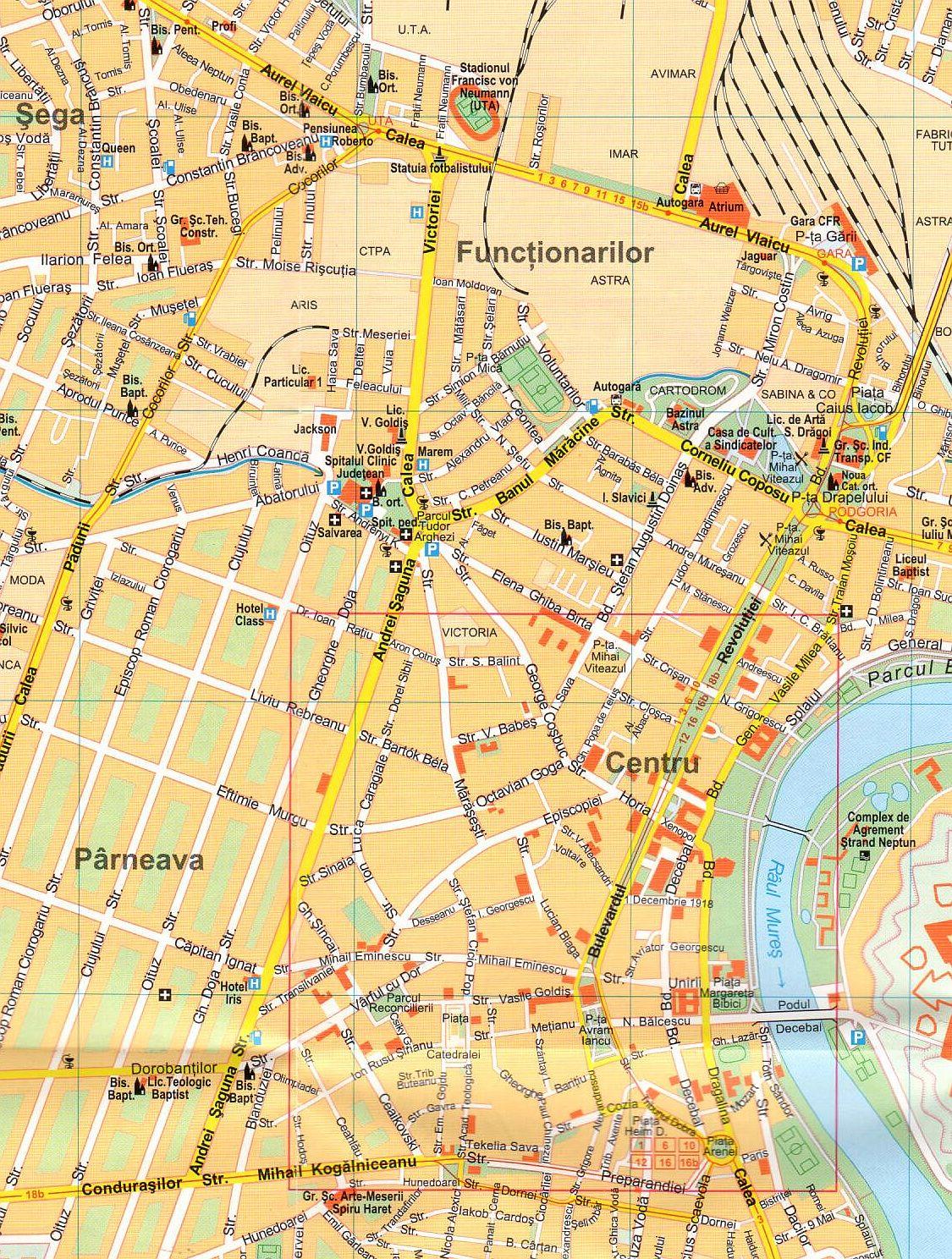 Arad sample map