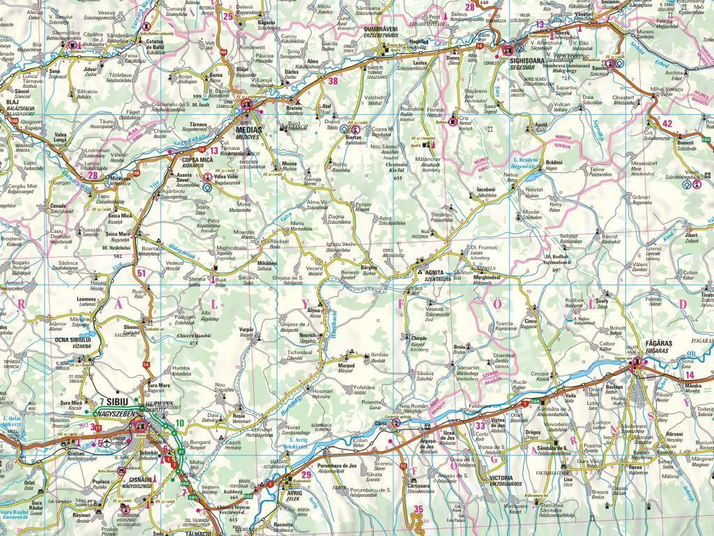 Transilvania sample map 1