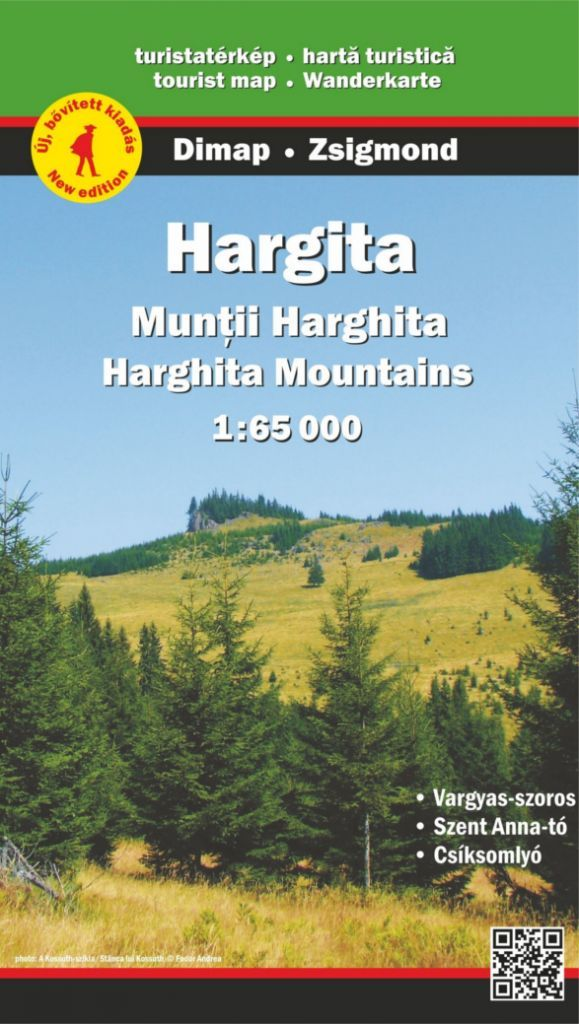 Tourist information in English, Romanian and Hungarian