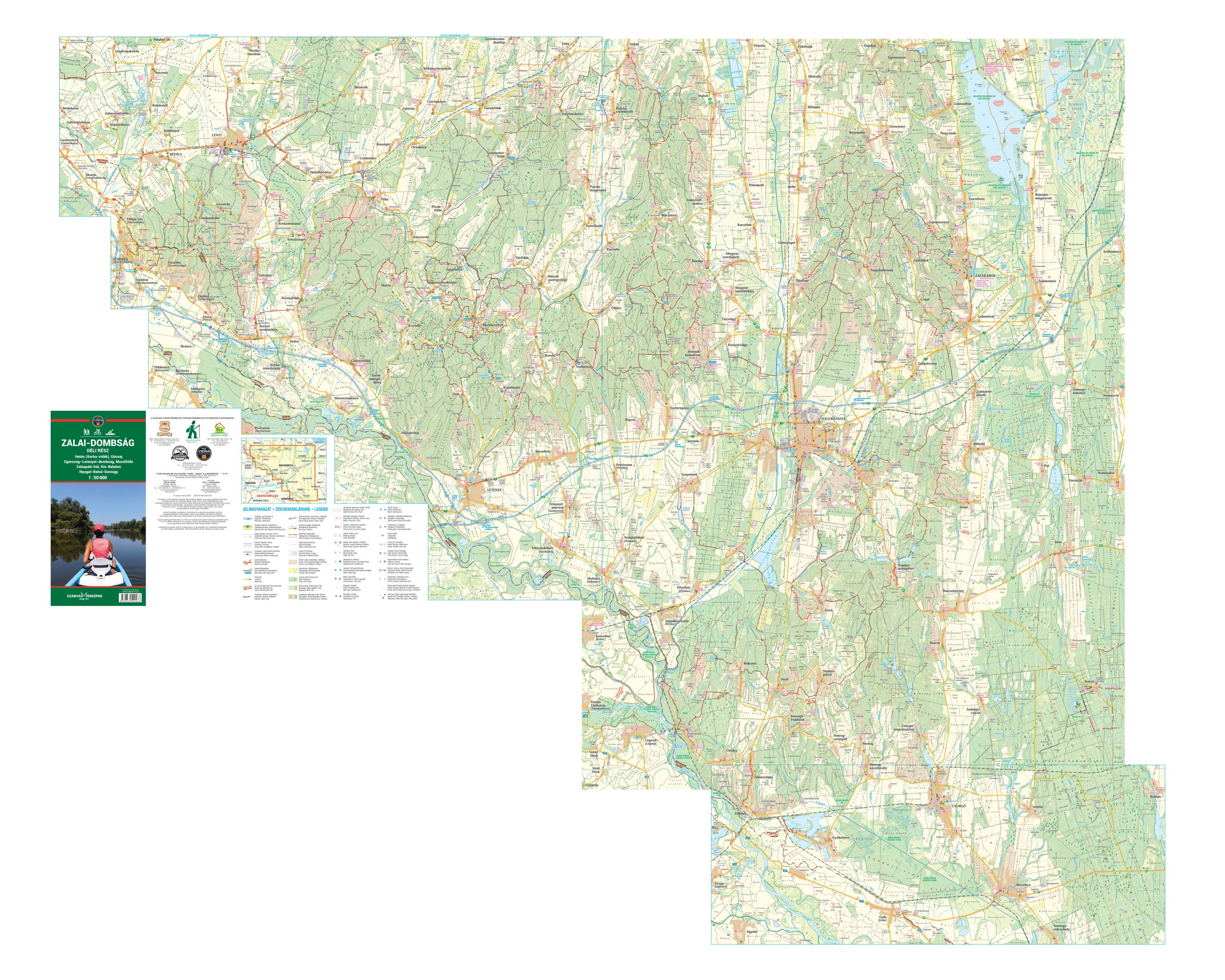 Tourist-biking map for mobile devices and tablets