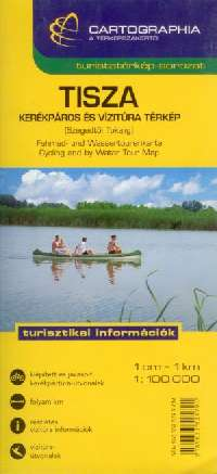 Map for anglers, watersport and cycling