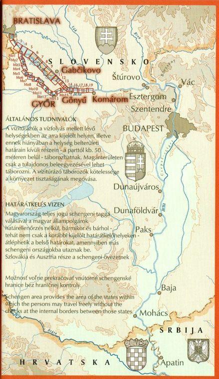 Duna 1 áttekintő térkép