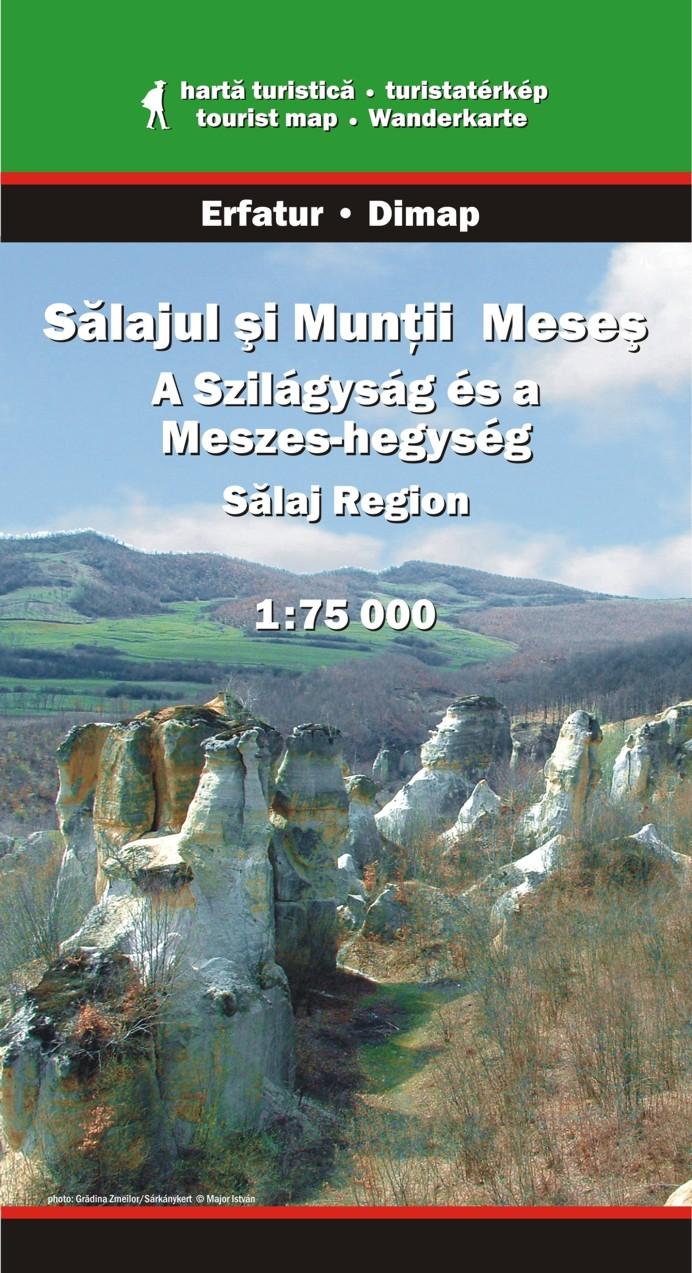 - Szöveg román, magyar és angol nyelven - a földrajzi fokhálózat ábrázolása GPS-hez.