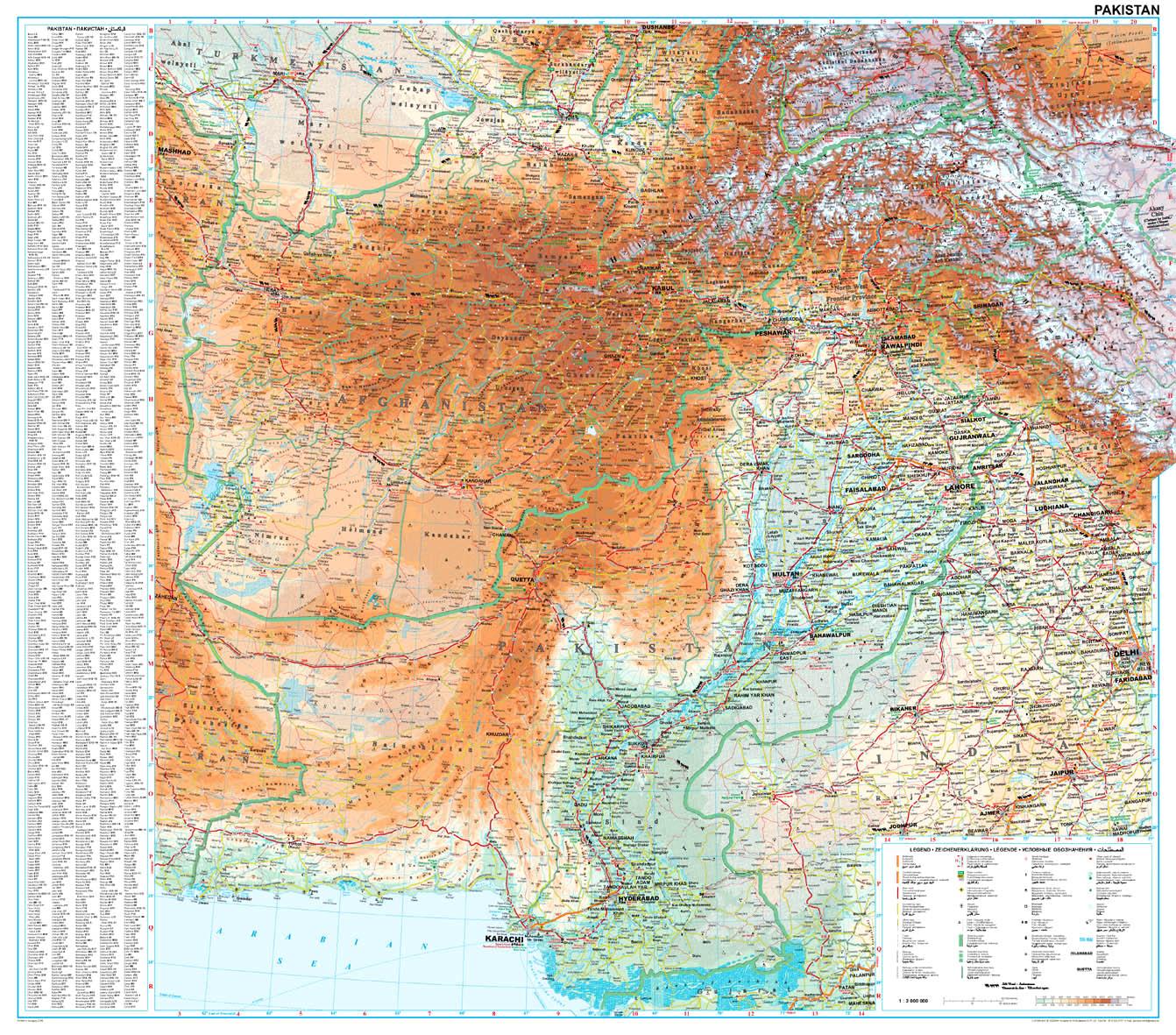 Áttekintő térképe
