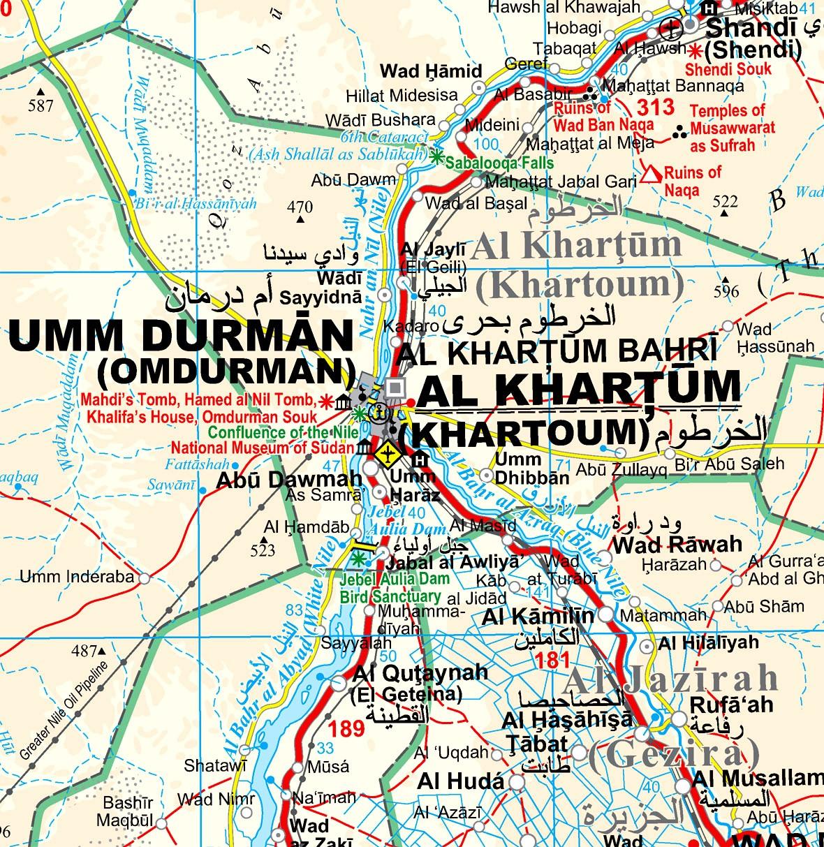 Szudán: Khartoum környéke