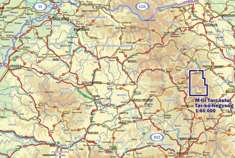 Tar-kő a térképen