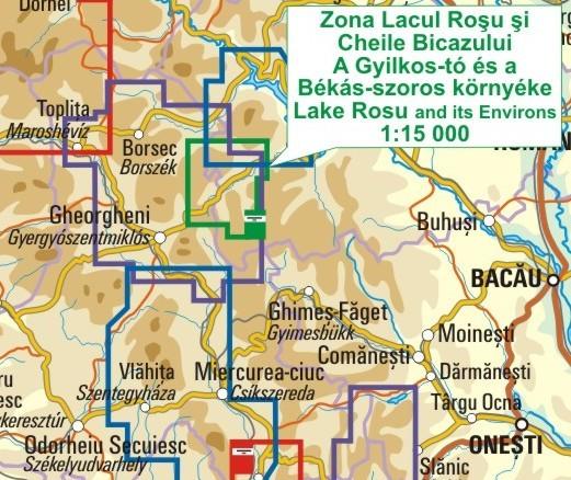 A Gyilkos-tó térkép környezete itt látható