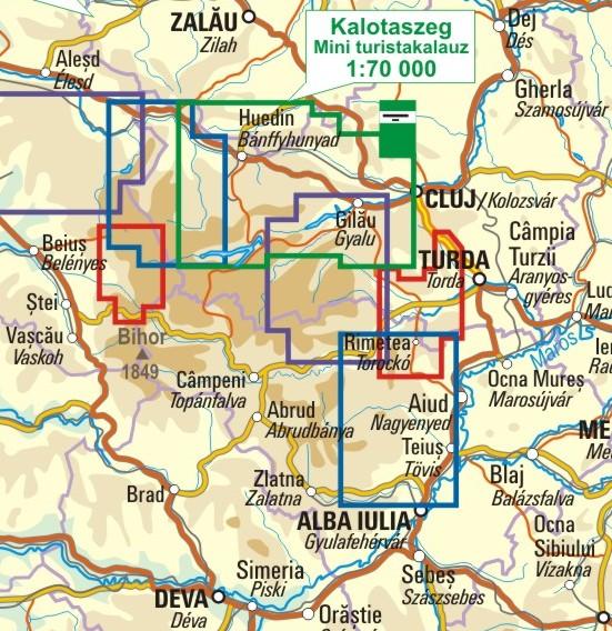 A Kalotaszeg térkép környezete itt látható