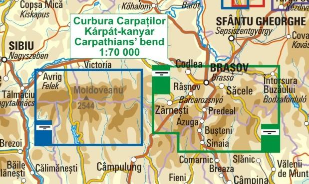 A Kárpát-kanyar térkép környezete itt látható