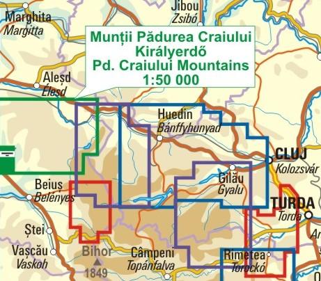 A Királyerdő térkép környezete itt látható