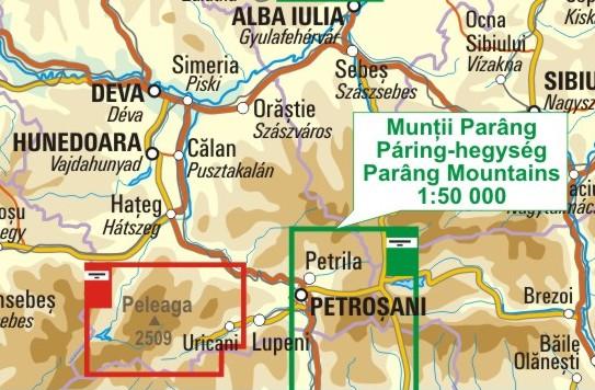 A Páring térkép környezete itt látható