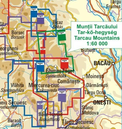A Tar-kő térkép környezete itt látható