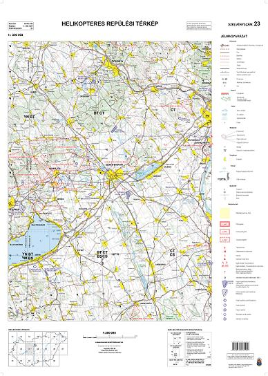 Helikopter térkép (23-as szelvény)