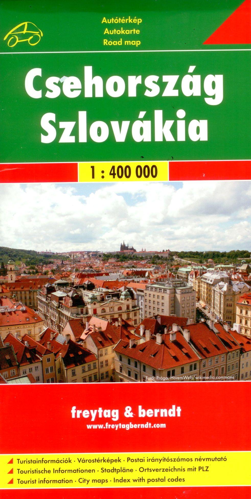 Várostérképekkel, turista információkkal és irányítószámos településjegyzékkel