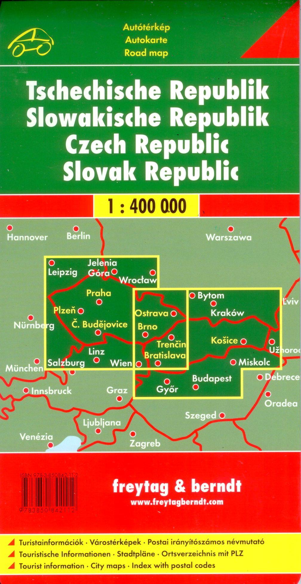 A Csehoszág-Szlovákia térkép által lefedett terület