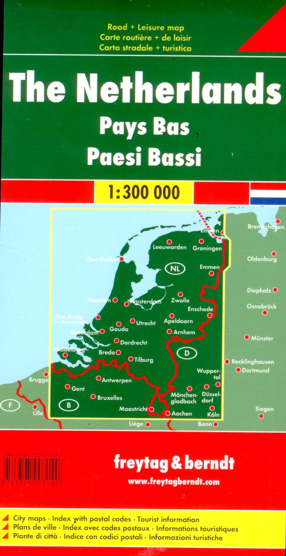 A Hollandia térkép által lefedett terület