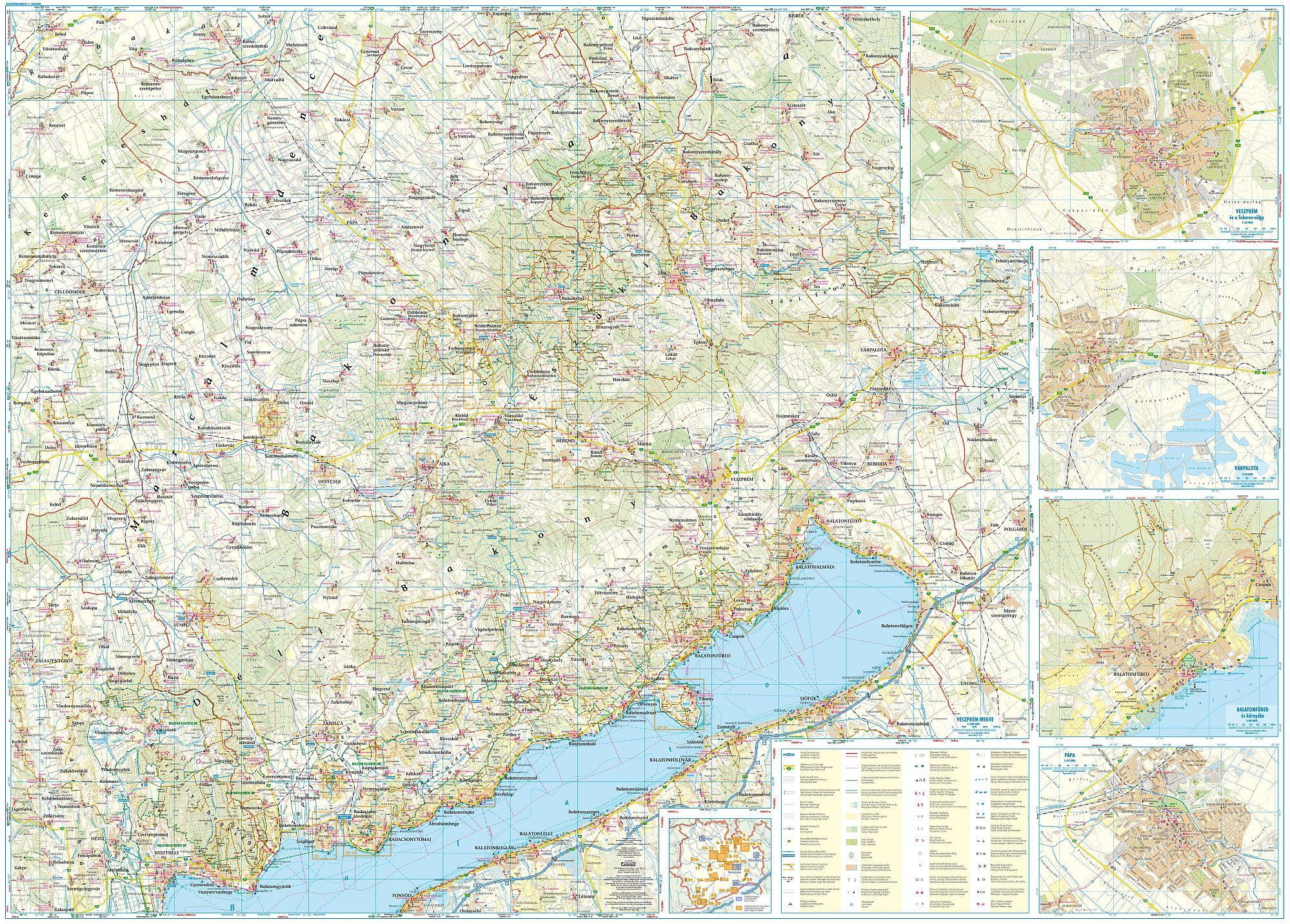 Turista-biciklis térkép mobil eszközökre