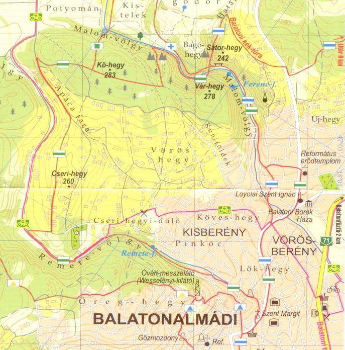 Balatoni riviéra: Balatonalmádi környéke