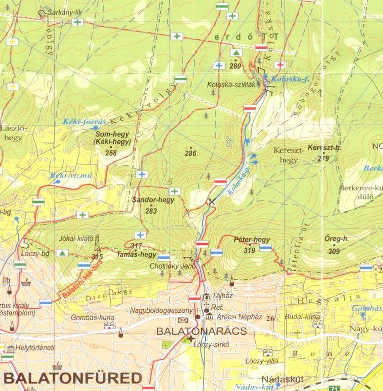 Balatoni riviéra: Balatonfüred környéke