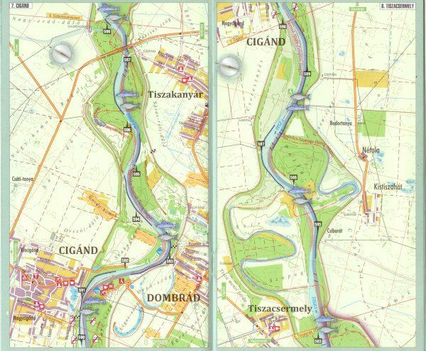 Tisza 638-494 fkm 1:35.000 mintatérkép