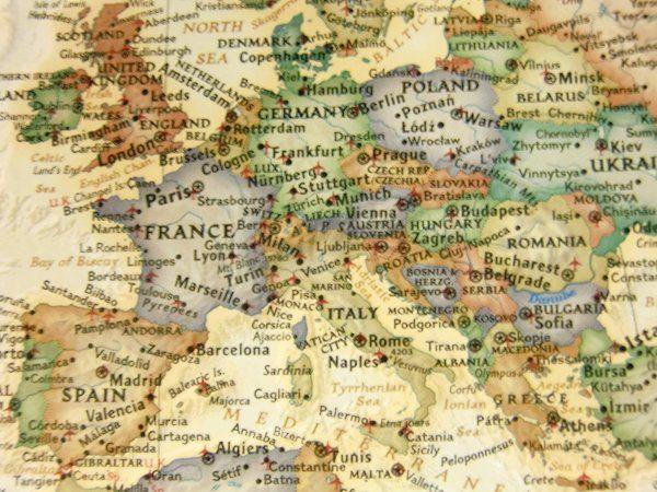 Antikolt világtérkép kivágata