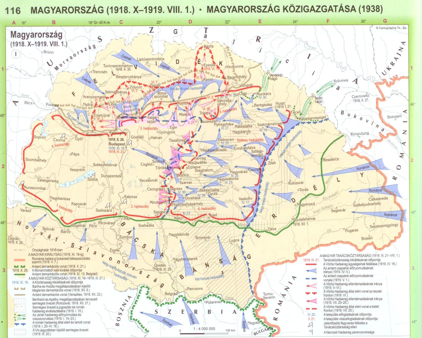 Történelmi Világatlasz mintalap (116. o.)