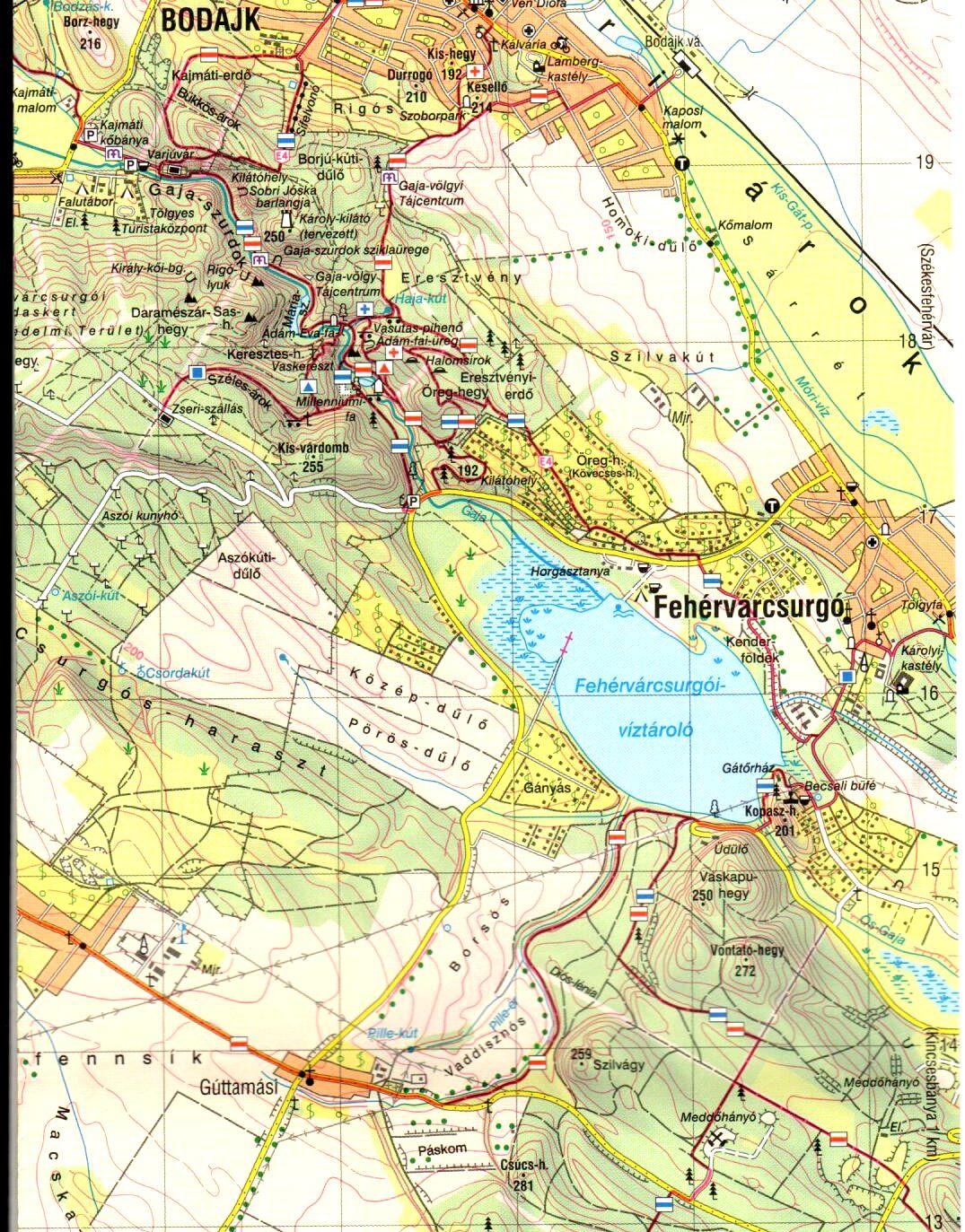 Bakony-Észak mintakivágat