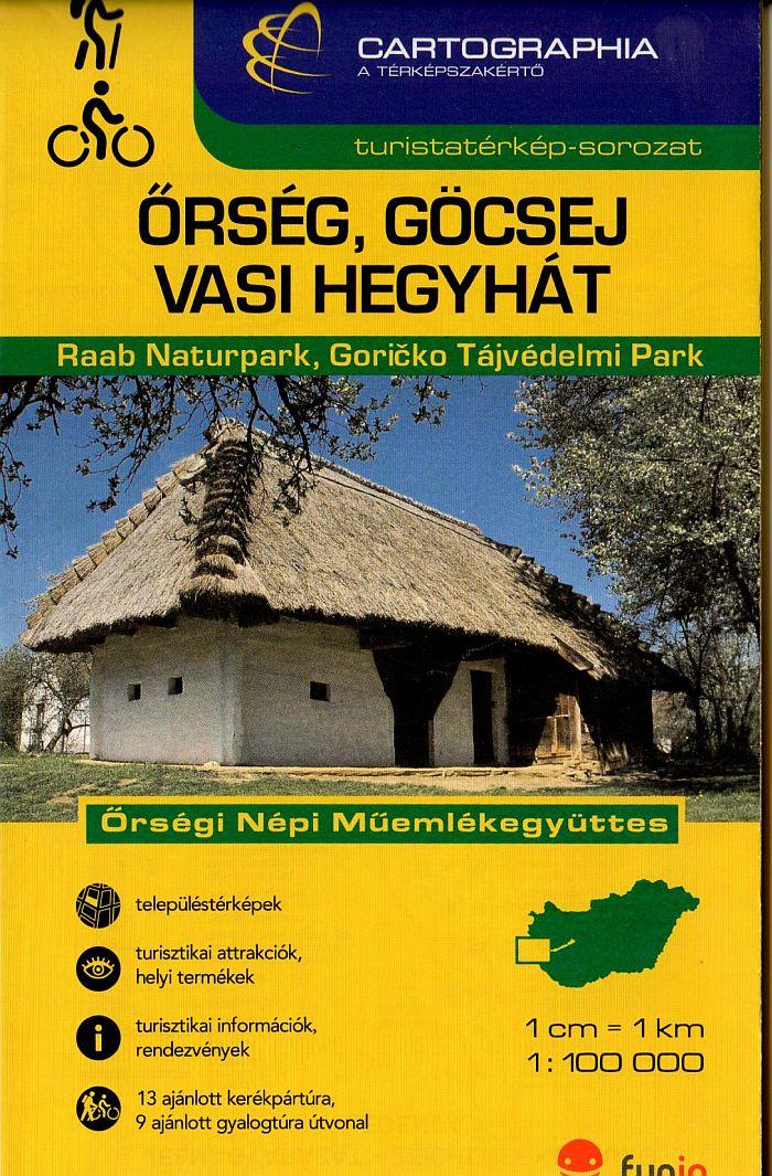 Hármashatár turistakalúz térképmellékletének címlapja