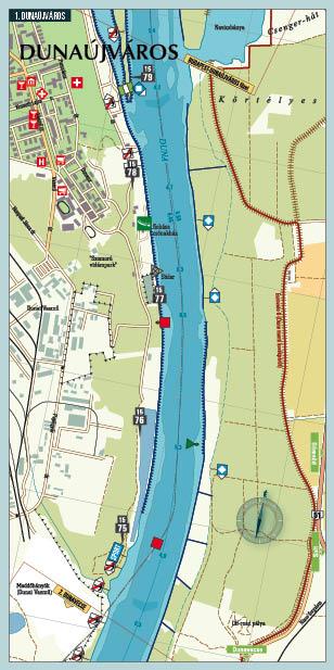 Duna 4 vizisport térkép minta