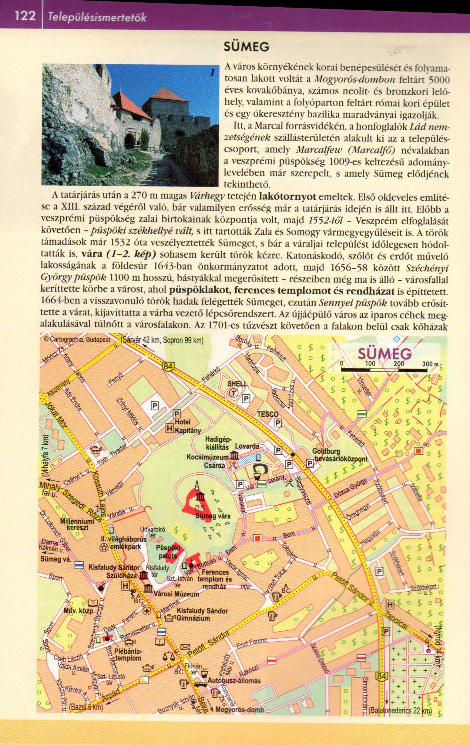 Balaton-felvidék atlasz mintaoldal