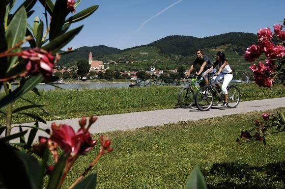 Duna-menti kerékpárút mintaoldal