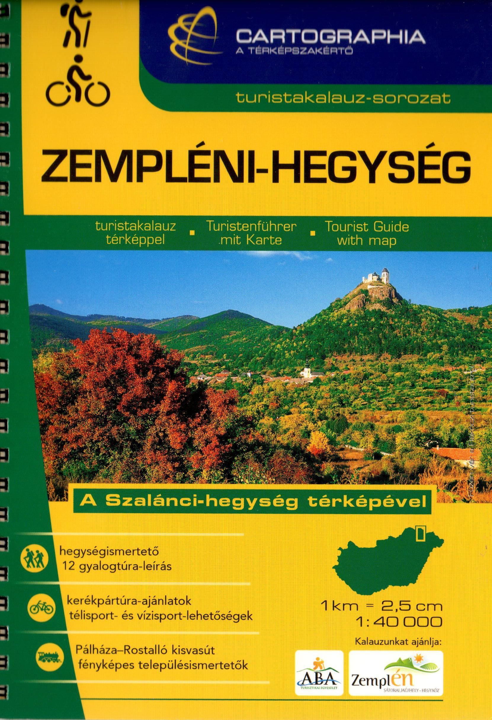 A turistatérképek mellett részletes túraleírásokat is tartalmazó útikönyv jellegű kiadvány. 11 gyalogostúra leírás és 4 kerékpártúra ajánlat. Sátoraljaújhely, Sárospatak, Tokaj és Szerencs térképével