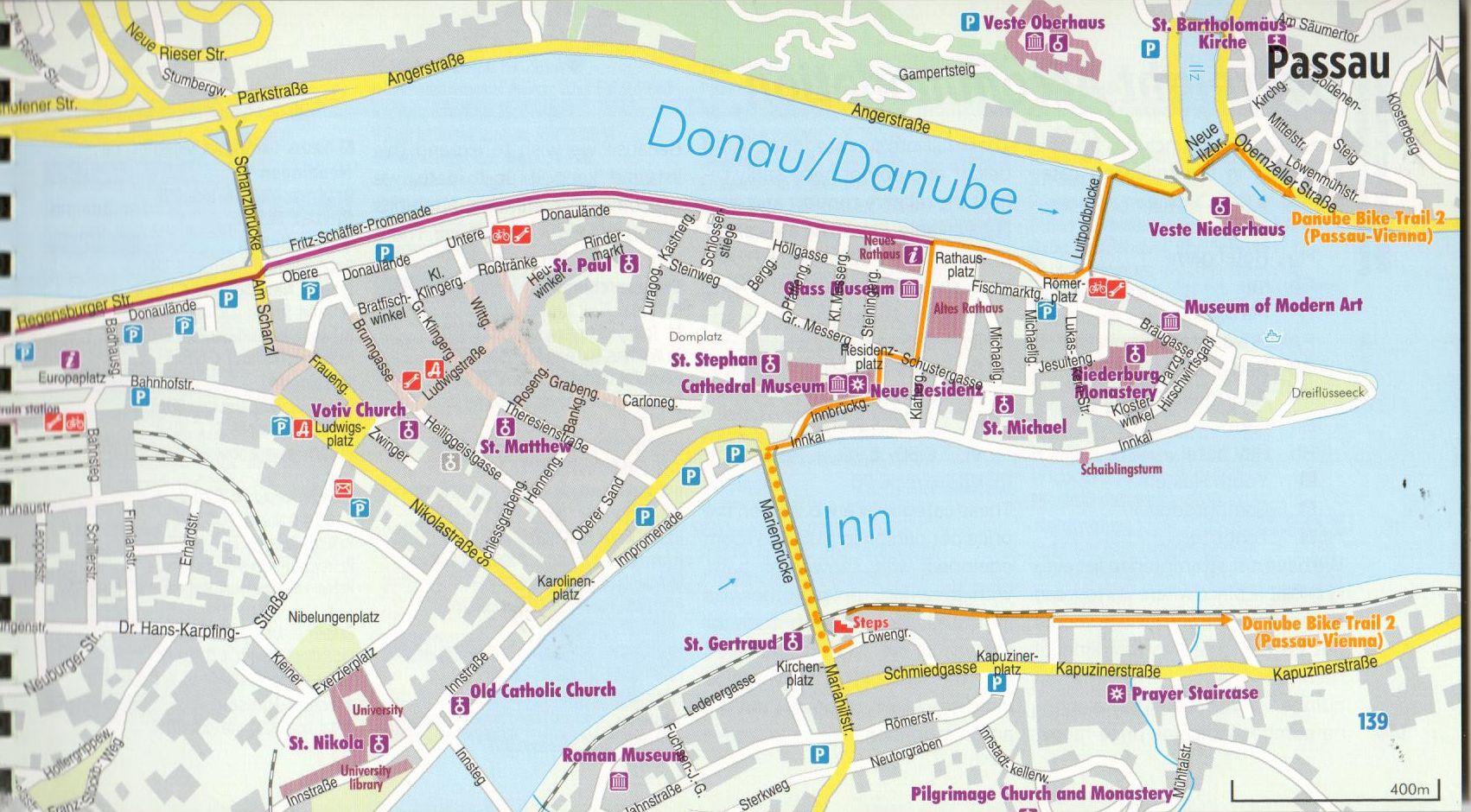 Duna-menti kerékpárút 1.: Mintalap
