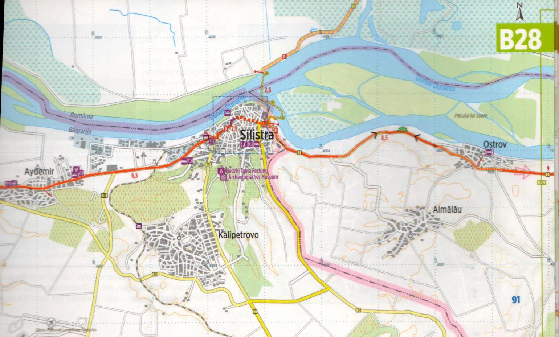 Duna-menti kerékpárút 5.: Mintalap