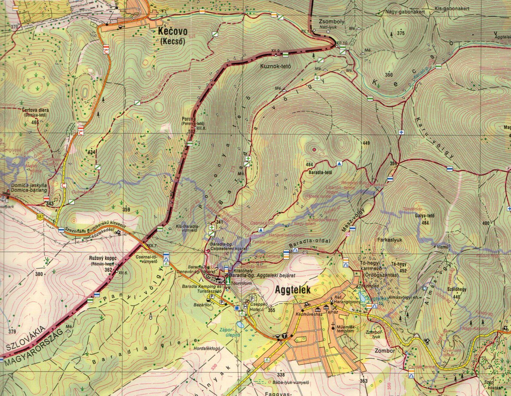 Gömör-Tornai (Aggteleki karszt mintatérkép 1:20.000