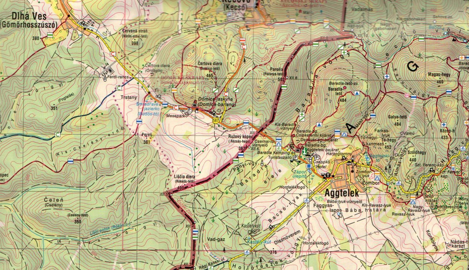 Gömör-Tornai (Aggteleki karszt mintatérkép 1:40.000