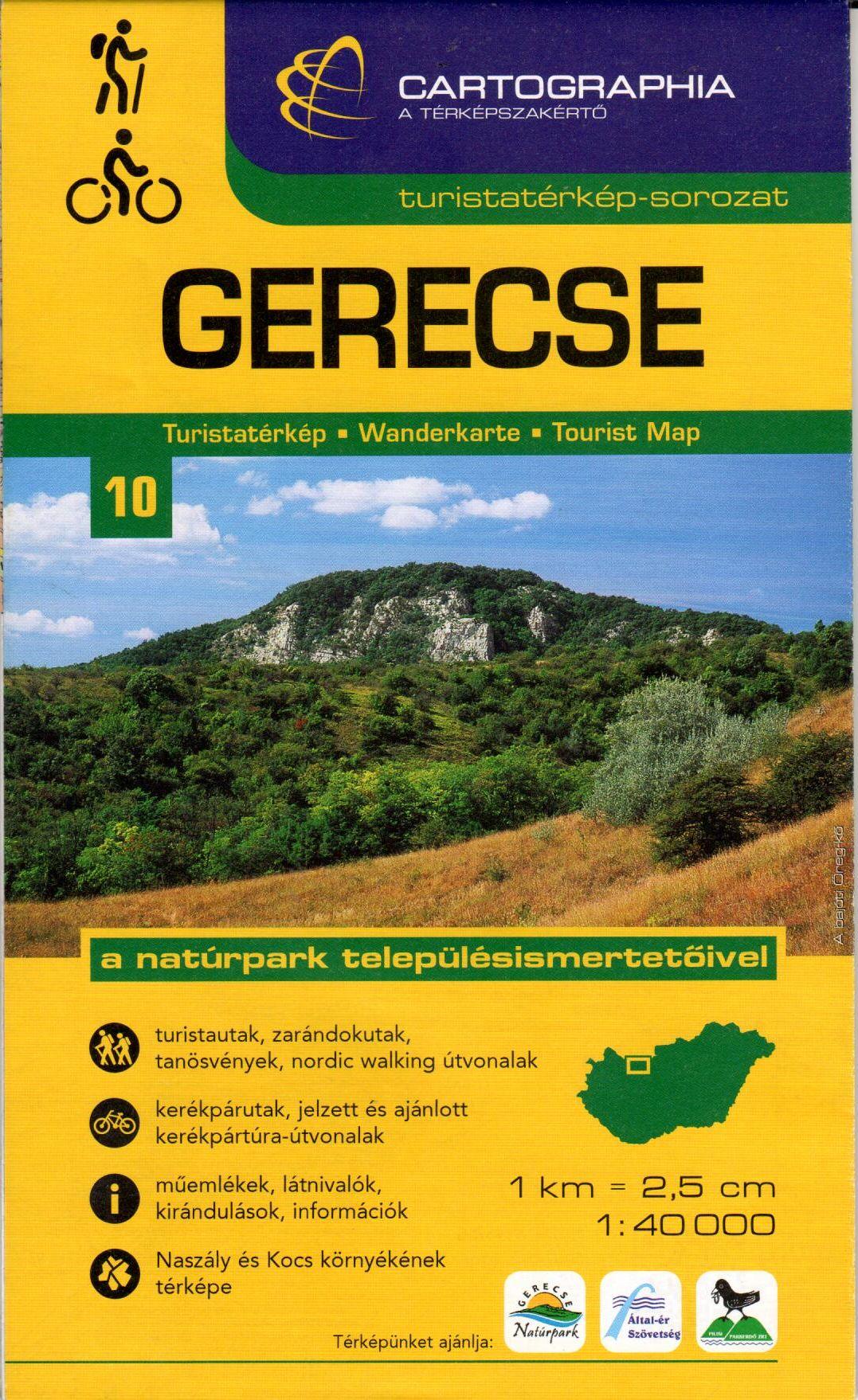 A Gerecse Natúrpark településismertetőivel