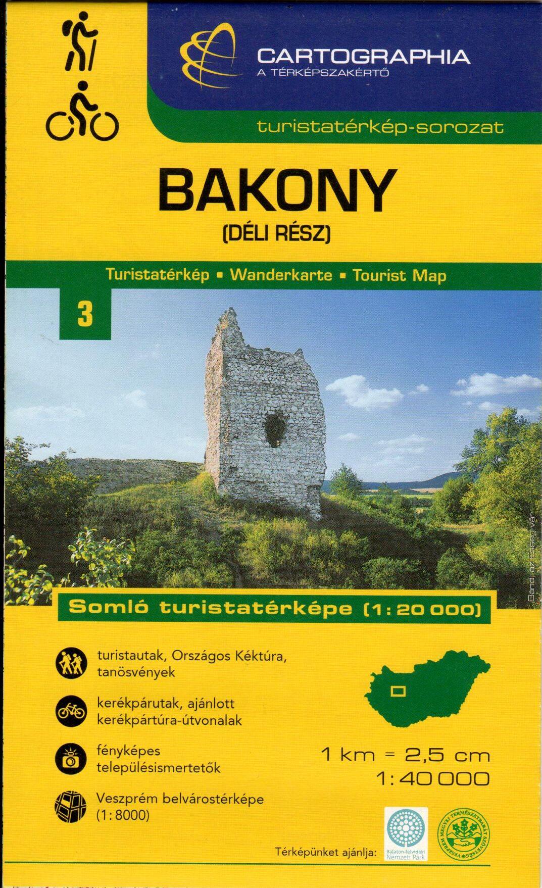 Melléktérképek: Somló és Veszprém