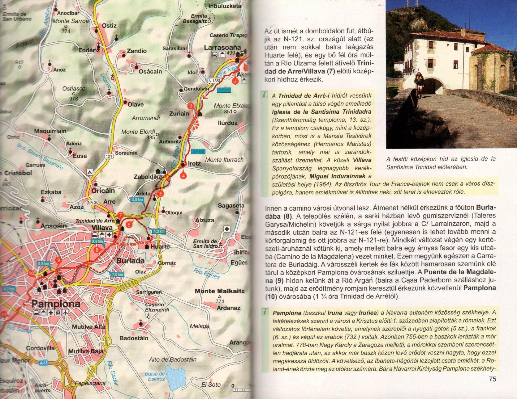 Rother: Szent Jakab út mintaoldal