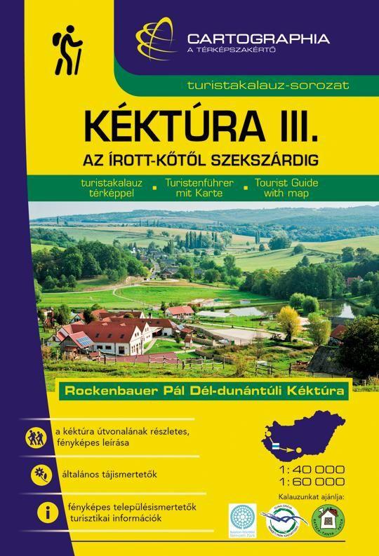 A turistatérképek mellett részletes fényképes túraleírásokat is tartalmazó útikönyv jellegű kiadvány, amelyik az Irott-kőtől-Szekszárdig terjedő túraútvonalat ábrázolja