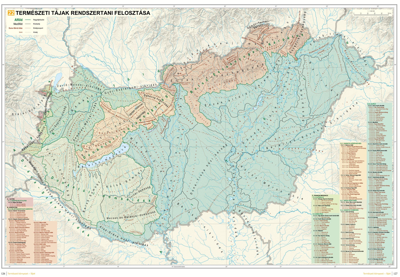 MNA mintalap: Magyarország kistájai