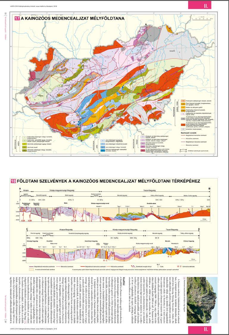 MNA mintalap: geológia