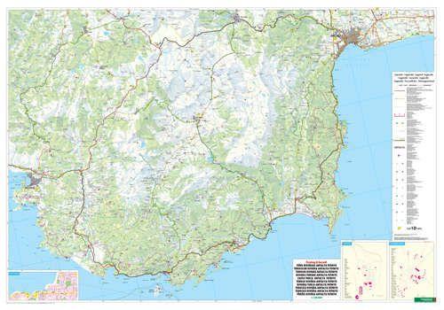 A Török-riviéra (FB) térkép által lefedett terület